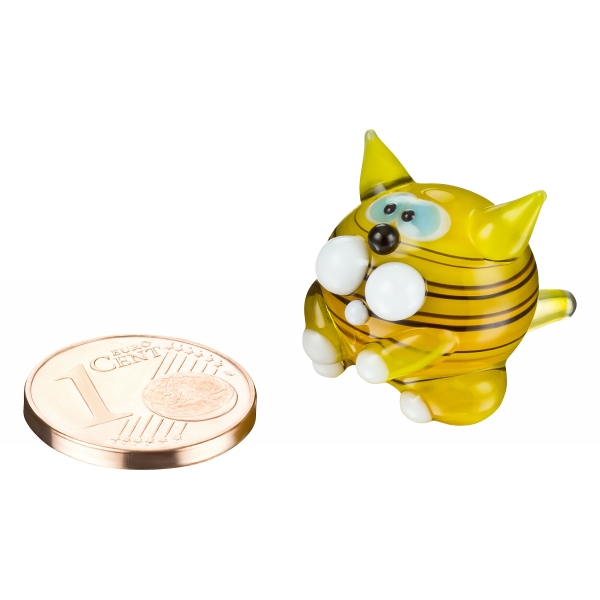 Katze Nr.1 - mini gelb