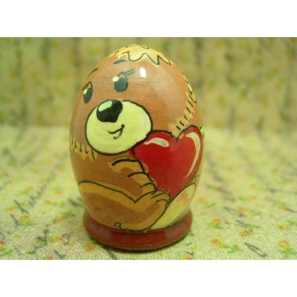 Fingerhut - Motiv Bär mit Herz