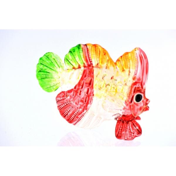 Bunter Glasfisch -Glasfigur-Nr.12