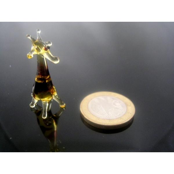 Giraffe gelb mini-Glastier-Glasfigur-Glasfiguren-k-3