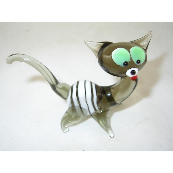 Katze-Tigerkatze-Glasfigur-Glasfiguren-b1-3-1