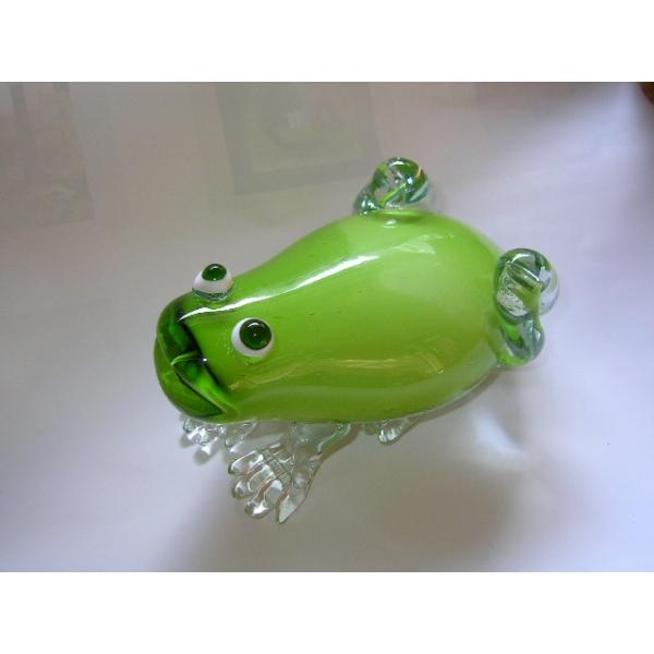 Frosch - Glasskulptur
