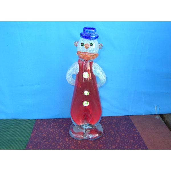 Clown 2 - Glasskulptur