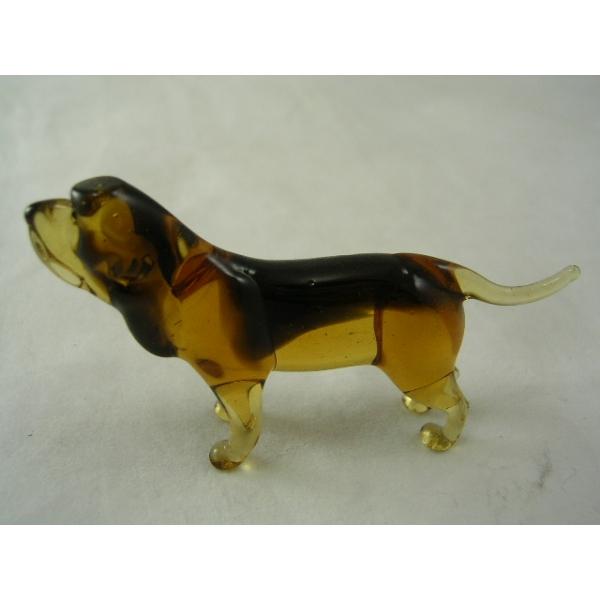 Hund-Dog-Bluthund-Bloodhound-30-15 - Glastier