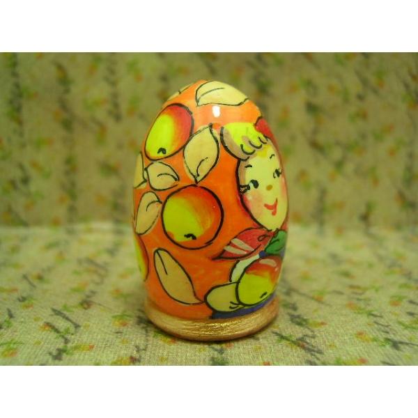 Fingerhut - Motiv Mädchen mit Apfel