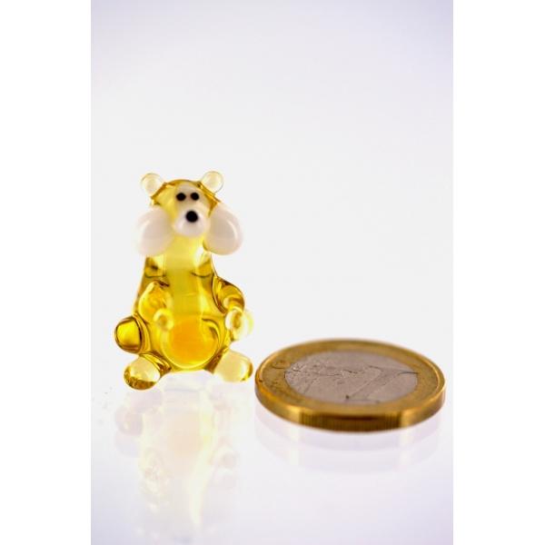 Hamster - Goldhamster Miniatur Glasfigur - Glastier