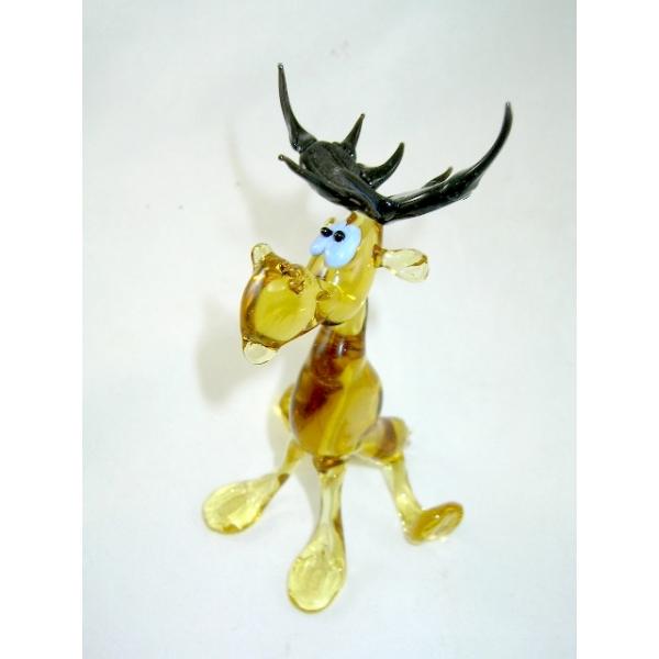 Elch -Elk-Glasfigur-Glasfiguren-y-12