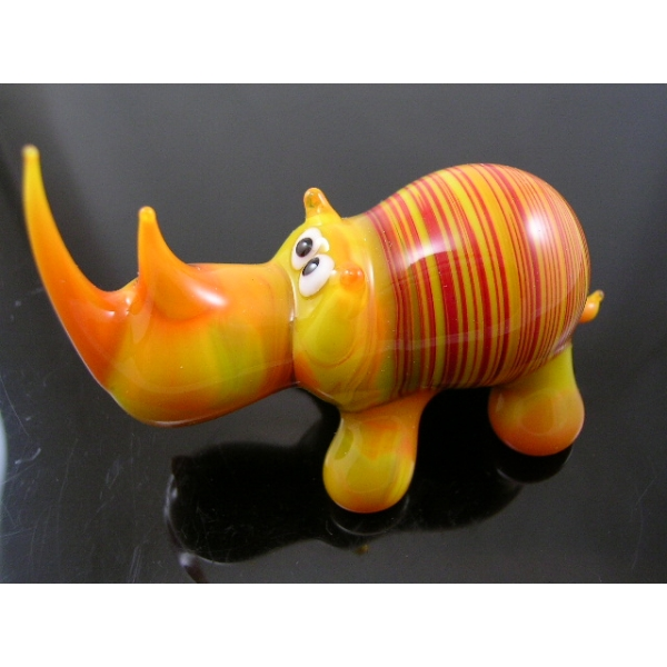 Nashorn-Glasfigur-Glastier-Glasfiguren-b1-2-1
