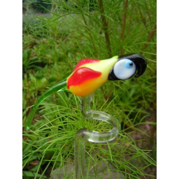 Ara-Papagei-Orchideenstab-Blumenstab-u-3
