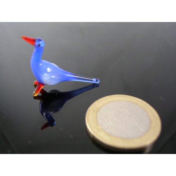 Vogel blau-Glastier-Glassfigur-Glassfiguren-k-3
