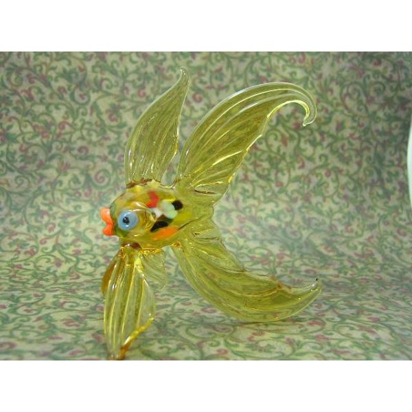 Fisch-Goldfisch - Glastier