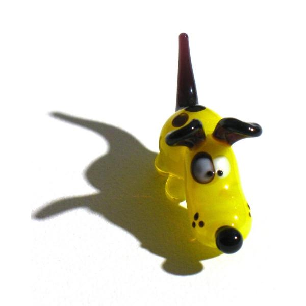 Hund mini 1-Glasfigur-k-5