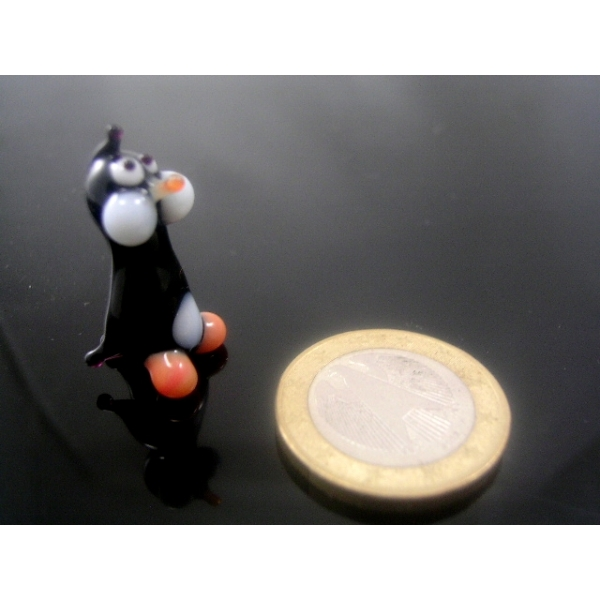 Pinguin mini -Glastier -Glasfigur-Glasfiguren-k-3