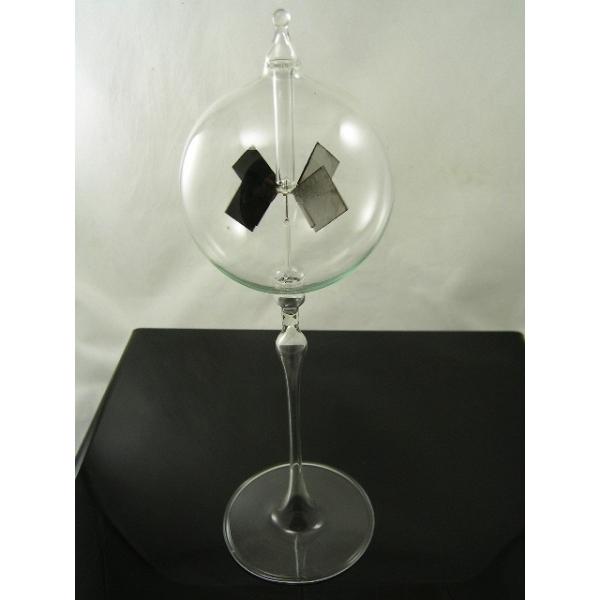 Lichtmühle - Radiometer - stehend - Klarglas