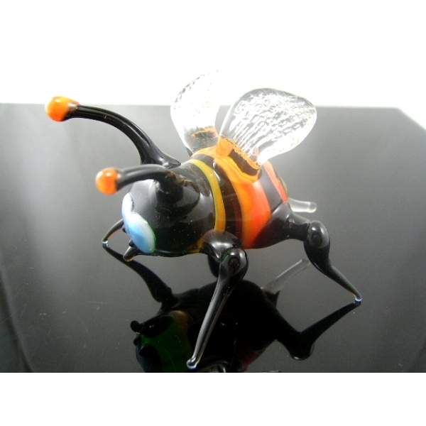 Hummel-Glastier-Glasfigur