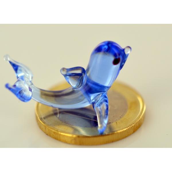 Delfin mini - Glasfigur