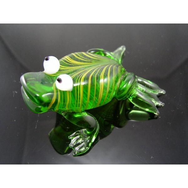 Frosch 7 - Glastier