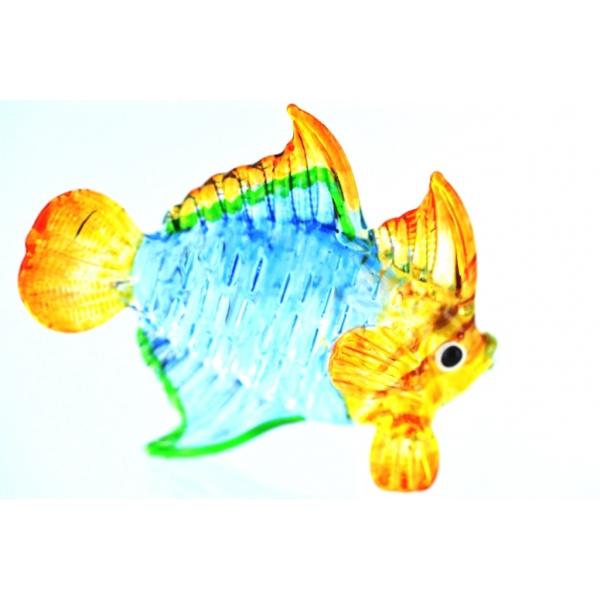 Bunter Glasfisch -Glasfigur-Nr.11