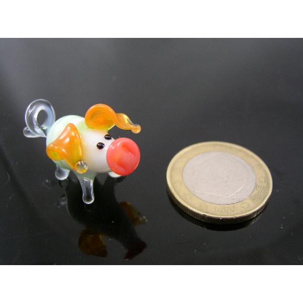 Schwein mini Glasfigur-k-1 gr