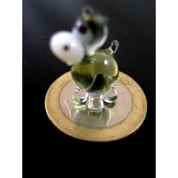 Flusspferd-Nilpferd mini -Glastier-k-9