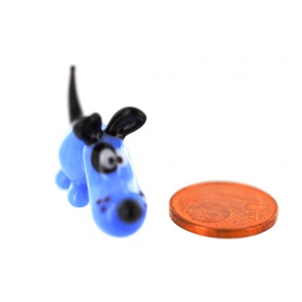 Hund mini 2-Glasfigur-k-5