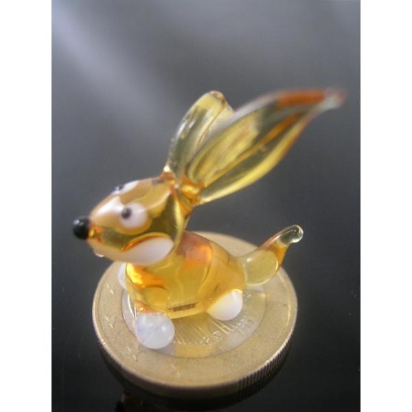 Kaninchen mini 3-Glasfigur-k-8