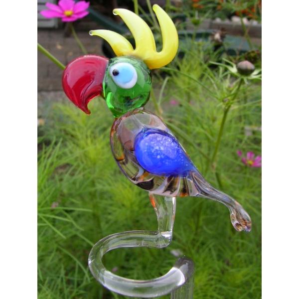 Papagei classic-Orchideenstab-Blumenstab-u-1