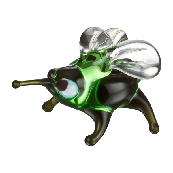 Fliege mini Glasfigur-Glastier-k-4