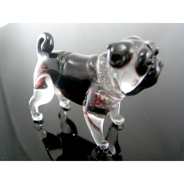 Hund-Dog-Mops b8-4-6-Glasfigur