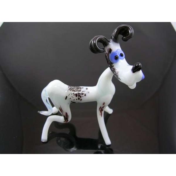 Hund Dalmatiner groß 3 - Glastier