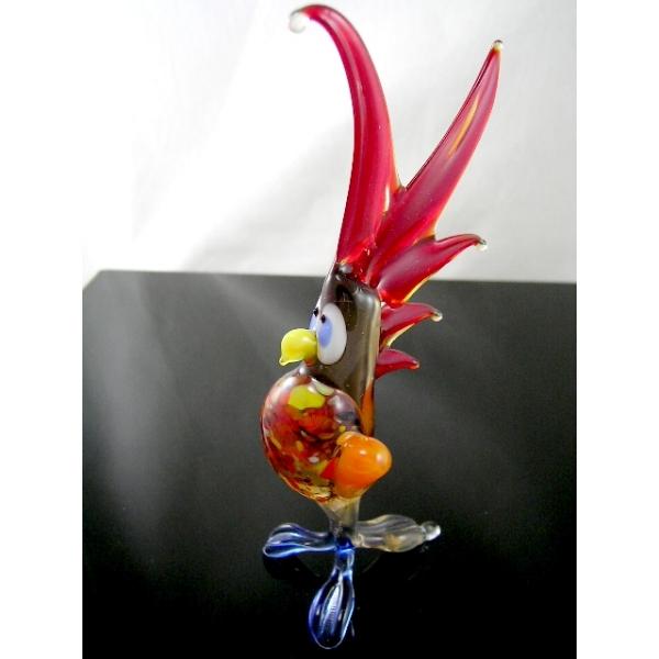 Papagei -Glastier-Glasfigur-Glasfiguren-b6-39-4